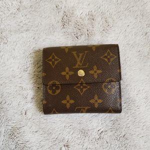 Louis Vuitton Elise Portefeiulle Trifold Wallet